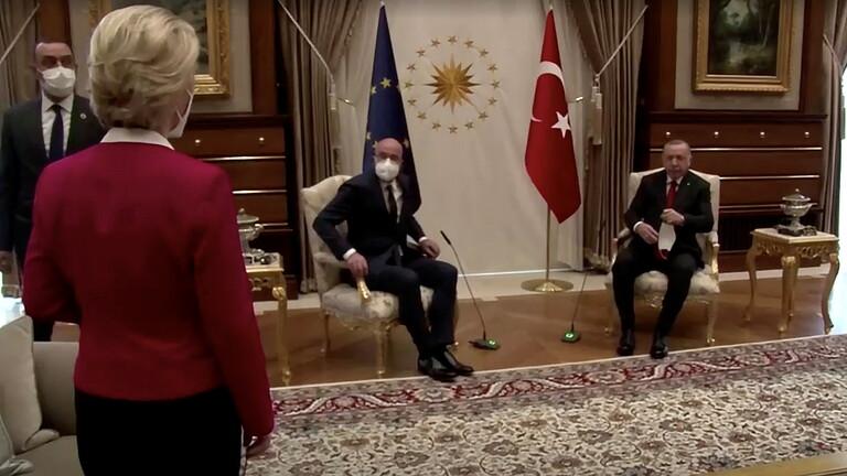 """رئيس الوزراء الإيطالي يتهم أردوغان بإهانة رئيسة المفوضية الأوروبية ويصفه بـ""""الطاغية"""""""