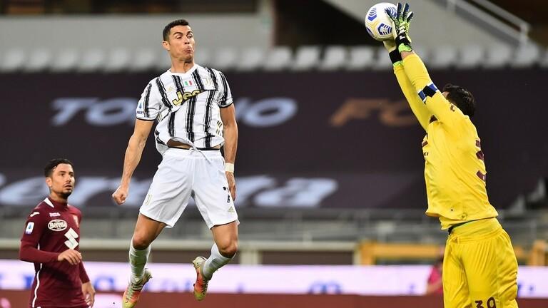 """رونالدو ينقذ """"يوفنتوس"""" من الهزيمة في """"ديربي"""" تورينو"""