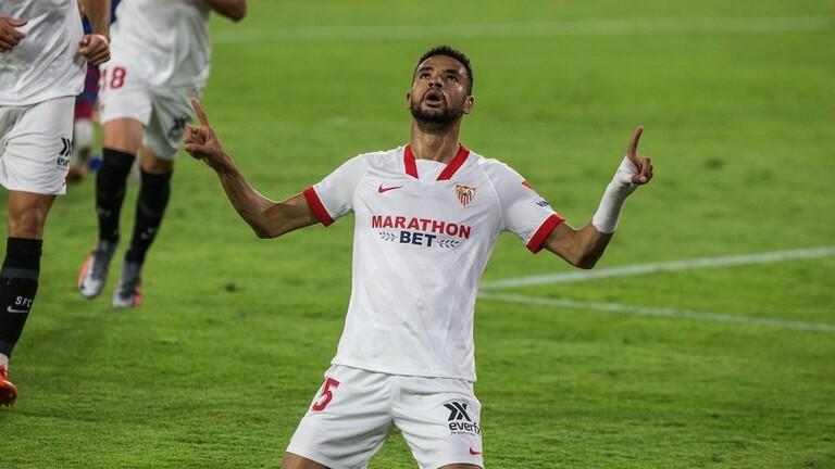المغربي النصيري يقود إشبيلية للفوز على ريال سوسييداد