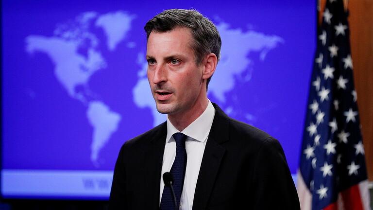 """الخارجية الأمريكية تطلب من روسيا توضيحات بشأن """"استفزازاتها"""" قرب حدود أوكرانيا"""