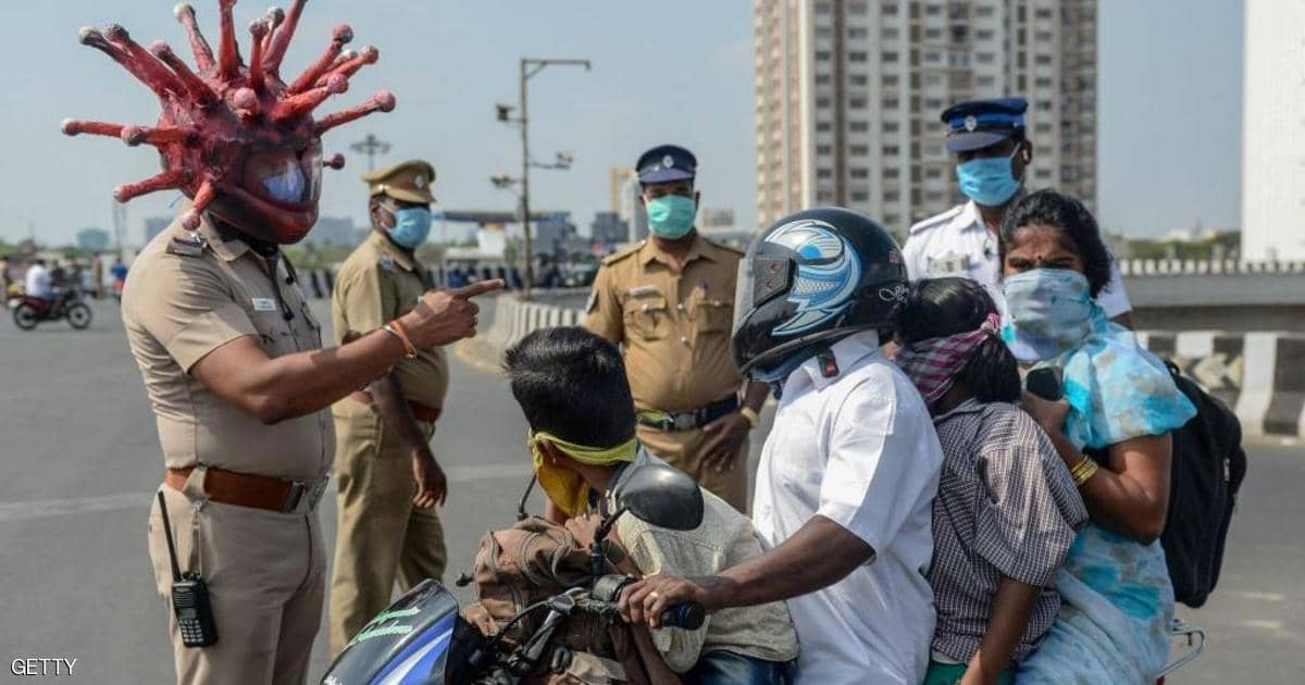 الهند تتجاوز عتبة 200 ألف وفاة بكورونا