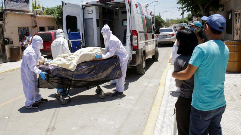المكسيك .. 600 وفاة جديدة بفيروس كورونا