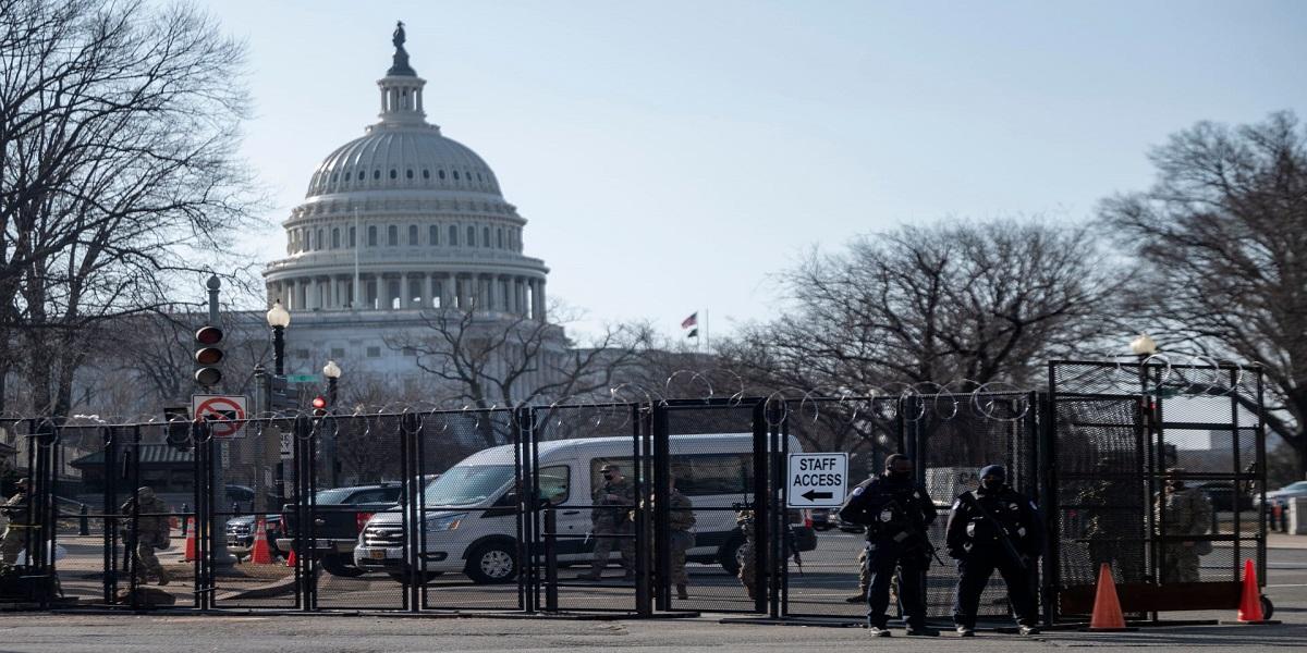 إغلاق مبنى الكونغرس بسبب تهديد خارج المبنى