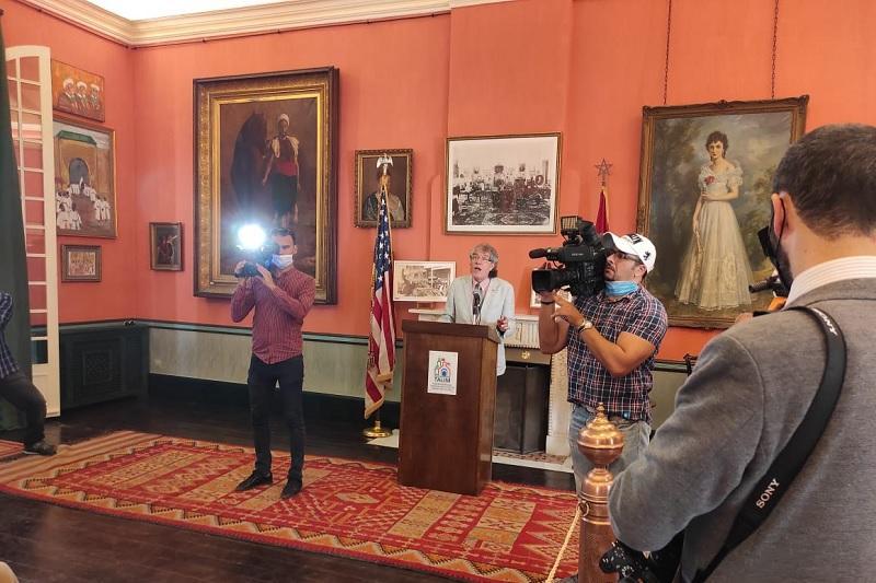 تُعْتَبر  أقدم مقر للبعثة الدبلوماسية الأمريكية خارج أراضيها،  سفارة واشنطن بالرباط تحتفل بالذكرى المئوية الثانية للمفوضية الأمريكية بطنجة