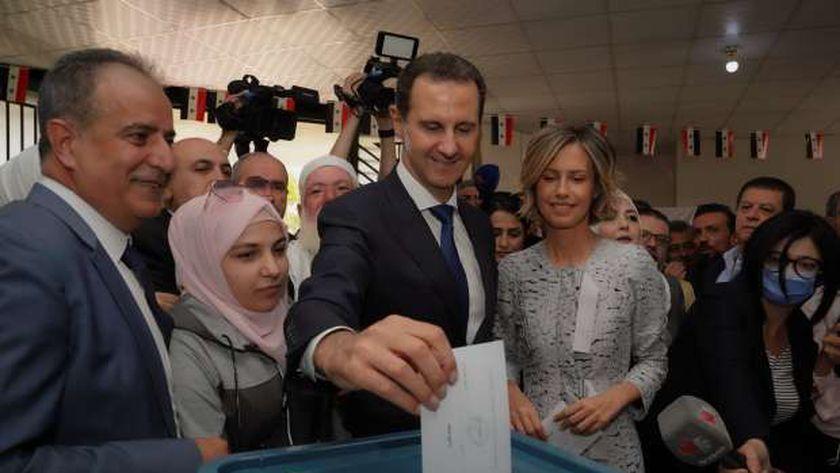 بشار الأسد يفوز برئاسة سوريا للولاية الرابعة بنسبة 95.1 في المئة من الأصوات، والغرب يطعن في نزاهة وحرية الانتخابات