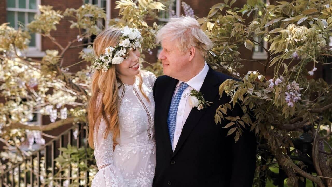 رئيس وزراء بريطانيا يتزوج رسميا