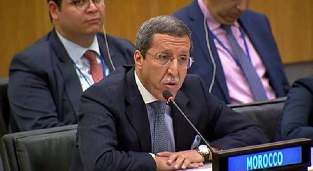 """السفير هلال يندد ب""""الارتباط الإيديولوجي"""" و""""العمى السياسي"""" لجنوب إفريقيا حول الصحراء المغربية"""
