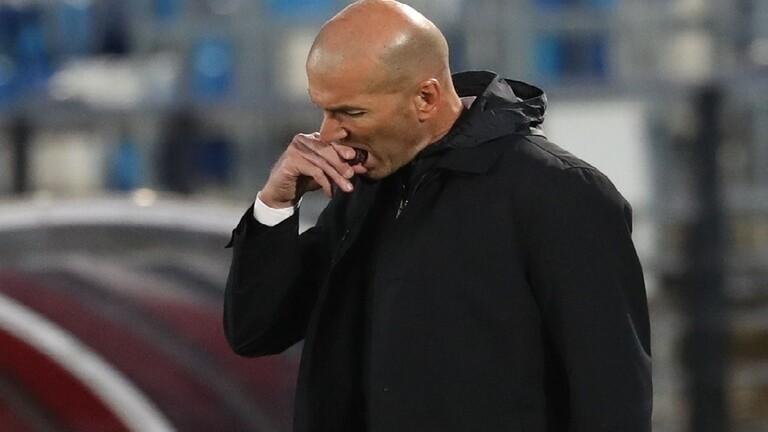 زيدان يعلن استقالته من تدريب نادي ريال مدريد