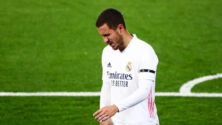 """اقتراب """"إيدين هازارد"""" من الرحيل عن نادي ريال مدريد"""