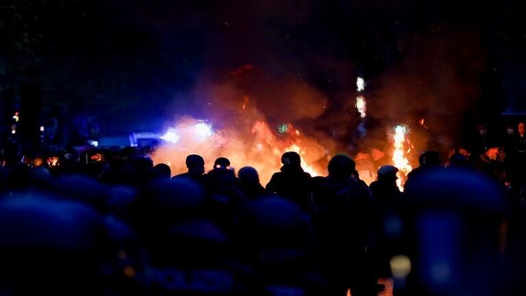 ألمانيا.. إصابة أكثر من 50 شرطيا واعتقال 250 في أعمال الشغب