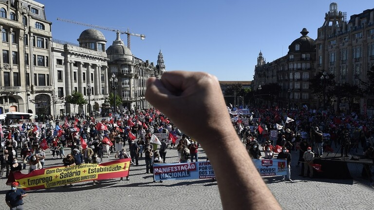 البطالة تخرج البرتغاليين إلى الإحتجاج