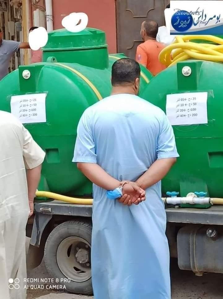 """بعد  أزمات الحليب والسميد والزيت  والبطاطا…، أزمة غير مسبوقة في المياه:  هل  يعوض النظام العسكري الجزائري الماء الشروب بالبترول """"الشروب""""؟"""