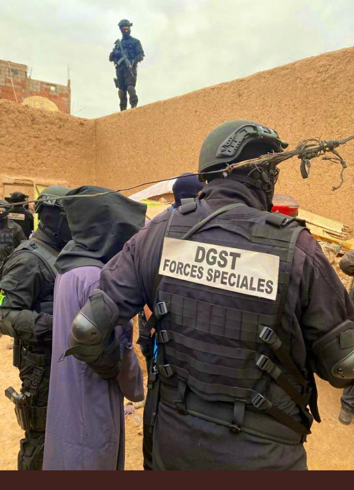 تفكيك خلية إرهابية موالية لداعش نواحي مراكش أسفي (صور)