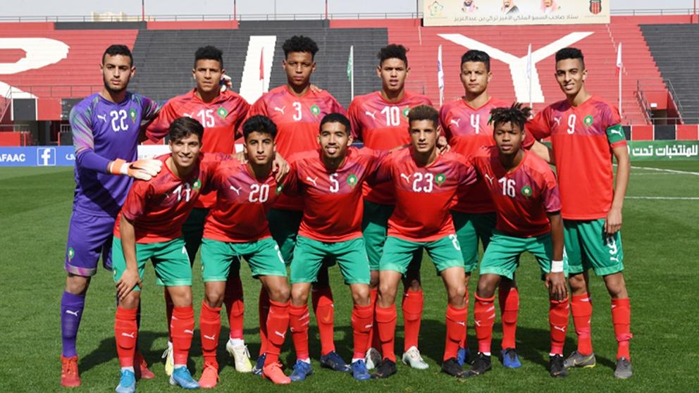 """القوة الهجومية ل""""أشبال الأطلس"""" تُرعب شبان """"الخضر"""" الجزائريين في ربع نهائي كأس العرب"""