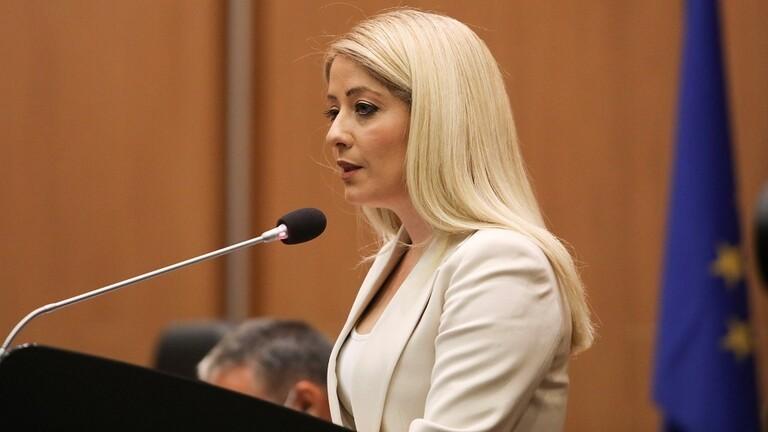 أول إمرأة تشغل منصب رئيسة للبرلمان في تاريخ قبرص