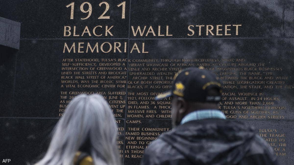 """بايدن.. أول رئيس أميركي يحيي ذكرى المذبحة العرقية في """"تولسا"""""""
