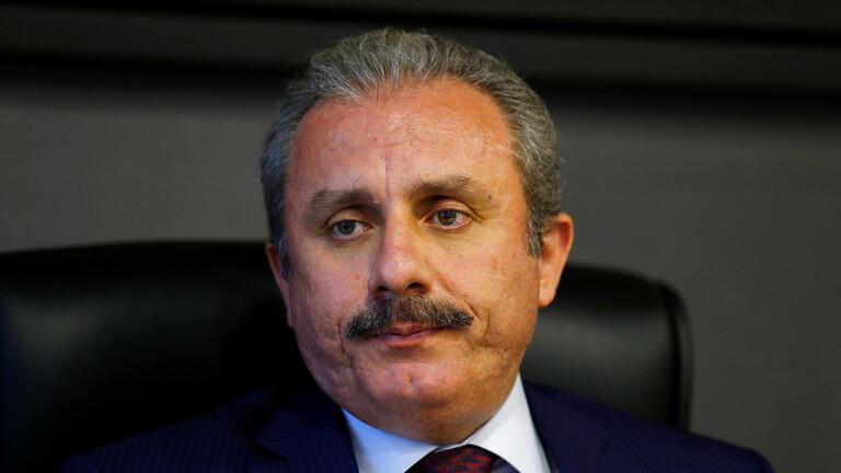 رسالة رئيس البرلمان التركي لوزير الداخلية تغضب أردوغان