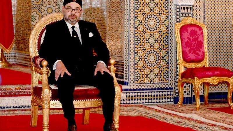 الملك محمد السادس يعزي أفراد أسرة المرحوم الصحافي خالد الجامعي