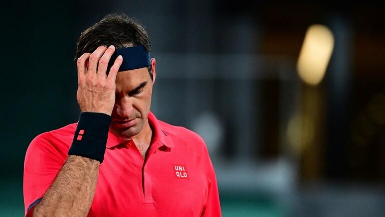 """السويسري """"روجير فيدرر"""" يفكر في الانسحاب من بطولة فرنسا المفتوحة للتنس"""