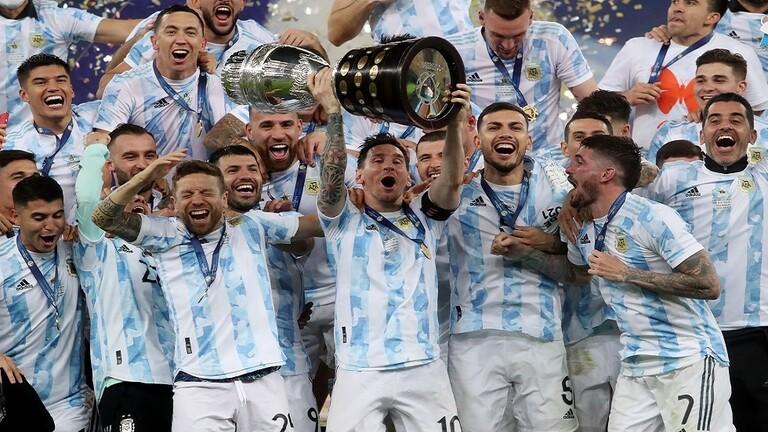 الأرجنتين تهزم البرازيل وتتوج بلقب كوبا أمريكا