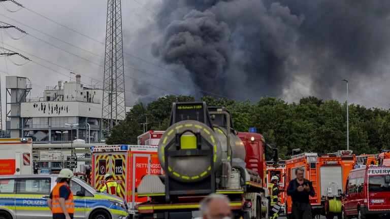مقتل شخصين بانفجار في مجمع للكيماويات غرب ألمانيا
