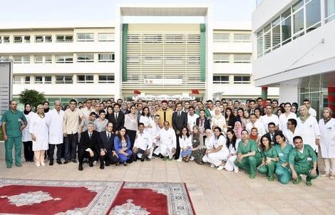 المركز الاستشفائي الجامعي محمد السادس بوجدة يخلد الذكرى السابعة لتدشينه من طرف جلالة الملك