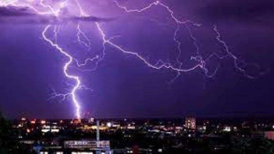 عواصف رعدية عنيفة تضرب ألمانيا