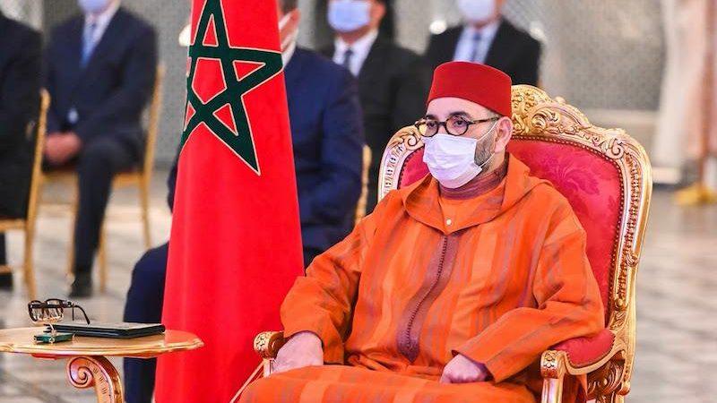 الملك محمد السادس يتمنى التقدم لشعب الجزائر