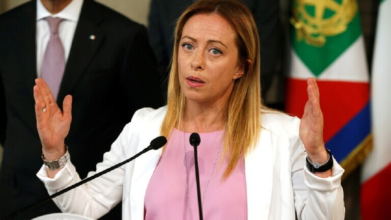 زعيمة حزب معارض: إيطاليا ليست مخيما للاجئين أو مستعمرة فرنسية