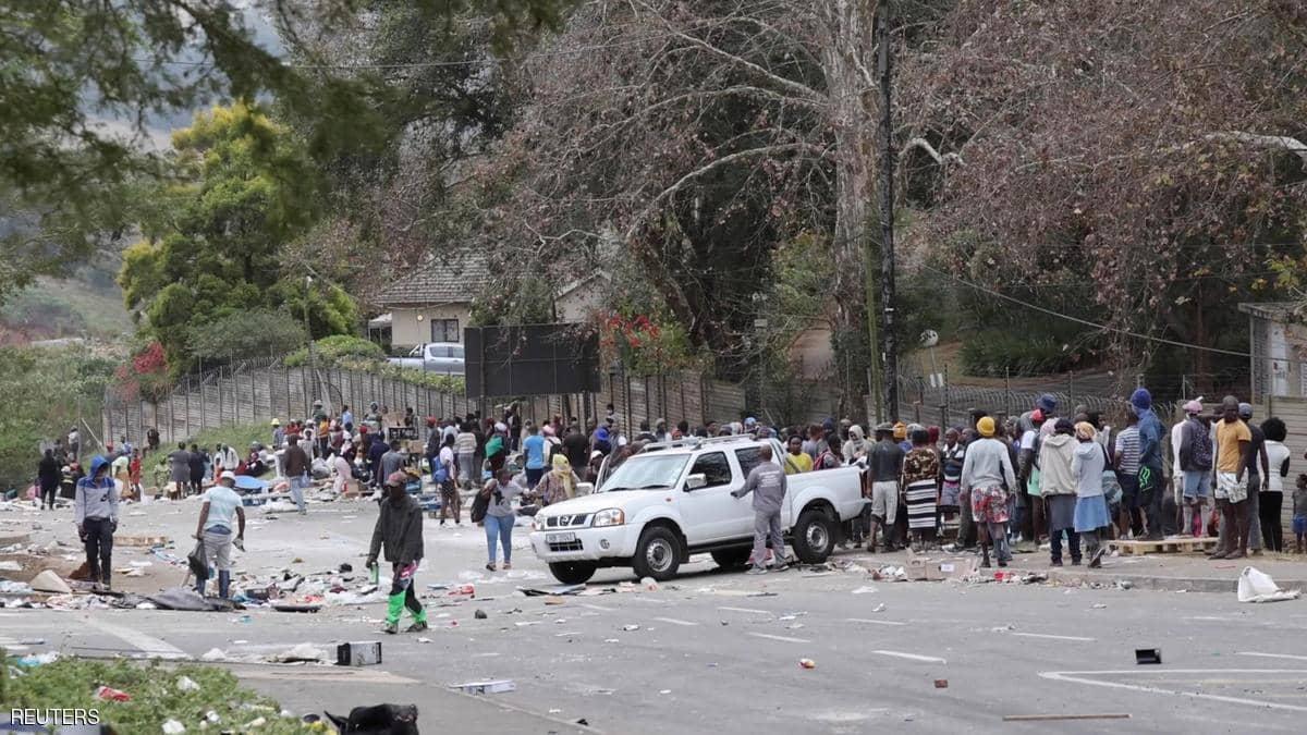 جنوب أفريقيا.. عدد قتلى أعمال العنف يتجاوز الـ 100