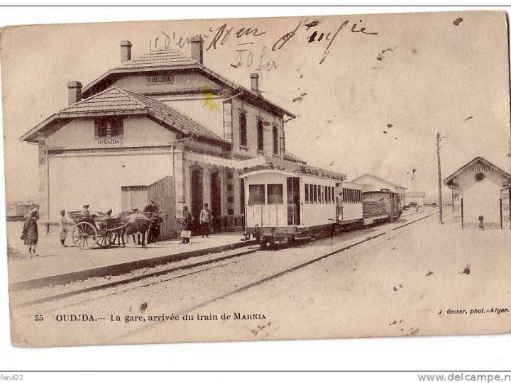 110 سنة على إنشاء محطة للقطار بوجدة الأولى في المغرب
