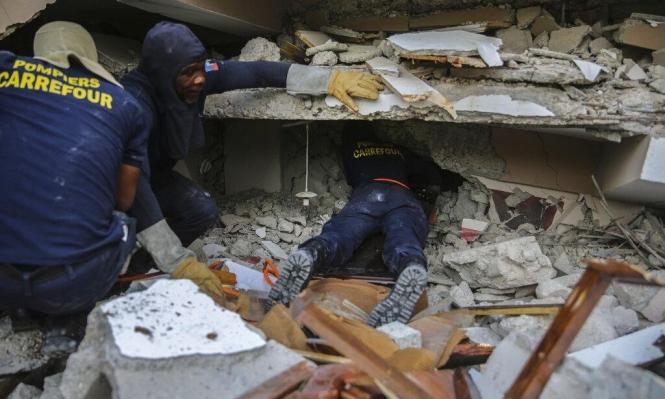 ارتفاع حصيلة ضحايا الزلزال في هايتي إلى 724 قتيلا