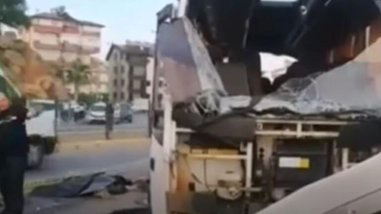 مصرع 4 مواطنين روس وجرح 5 آخرين بحادث مروري جنوب تركيا