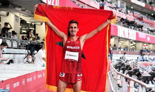 أولمبياد طوكيو : العداء المغربي سفيان البقالي يحرز الميدالية الذهبية لسباق 3000م موانع