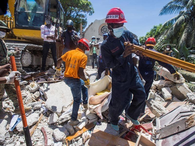 ارتفاع حصيلة ضحايا زلزال هايتي إلى 1297 قتيلا