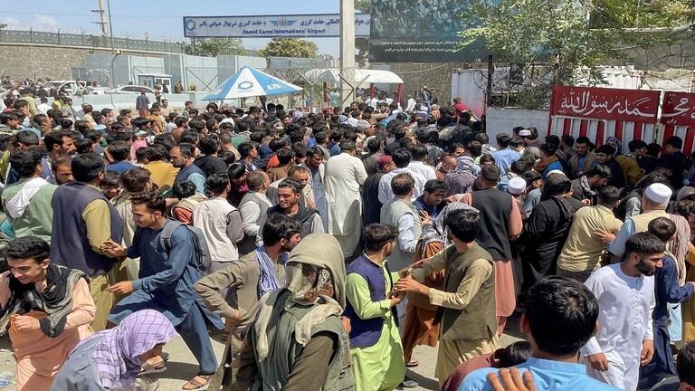 مقتل 7 أشخاص في مطار كابل