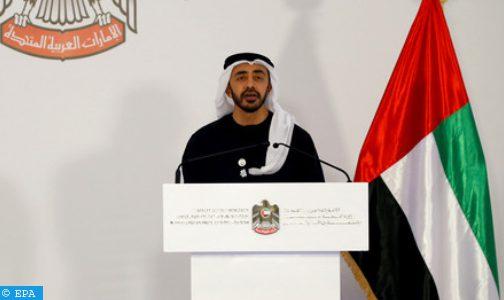 دولة الإمارات تأسف لقرار قطع العلاقات الدبلوماسية بين المغرب والجزائر