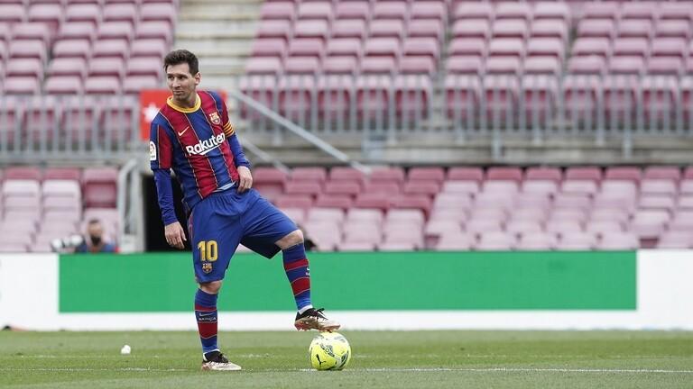 برشلونة ينهي اتفاقه مع ميسي