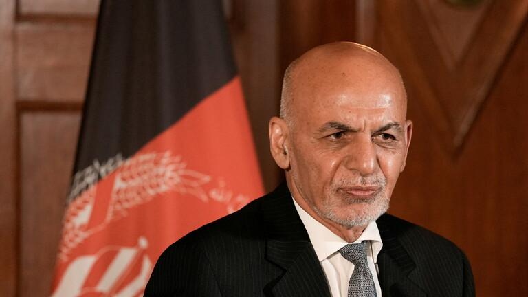 أشرف غني: غادرت أفغانستان تفاديا لحمام دم في البلاد