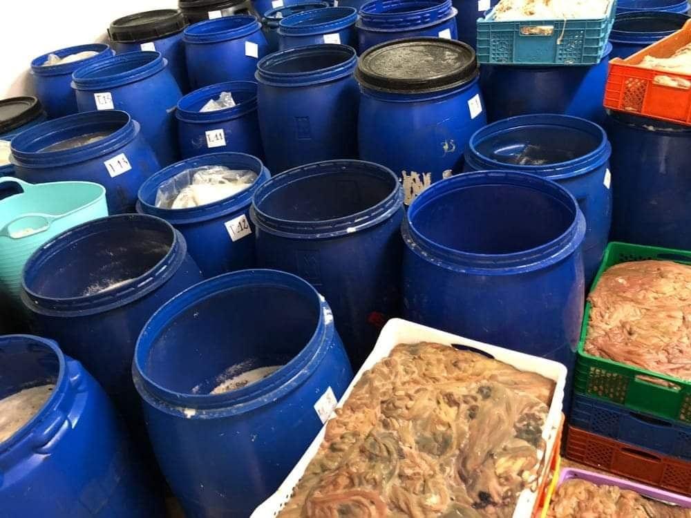 الشرطة القضائية ببركان تحجز مواد غذائية فاسدة