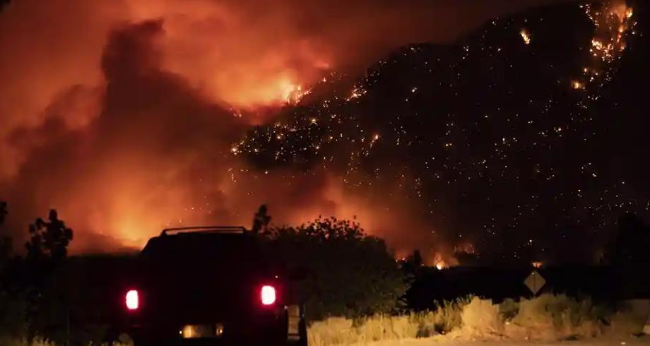 بايدن يعلن حالة الطوارئ في كاليفورنيا بسبب الحرائق