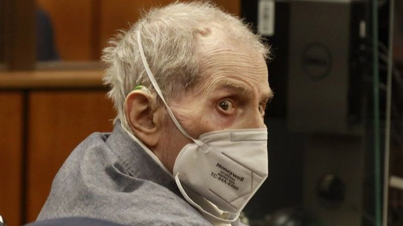 إدانة المليونير الأمريكي روبرت دورست بقتل صديقته