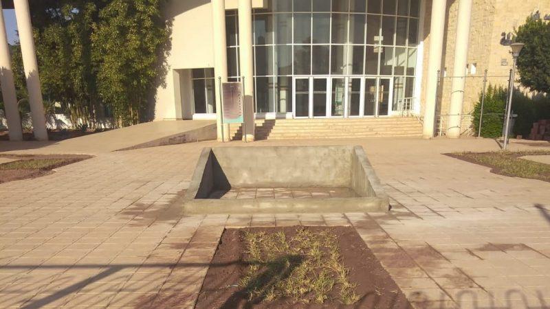 عميد كلية الطب والصيدلة بوجدة وهندسة حدائق الأموات (صور)