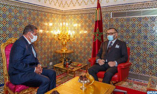 الملك محمد السادس يعين  عزيز أخنوش رئيسا للحكومة