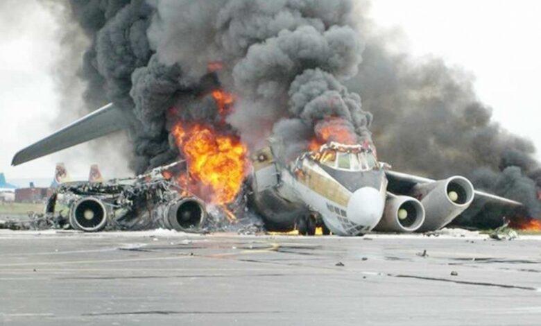 جرح شخصين جراء تحطم طائرة عسكرية في ولاية تكساس الأمريكية