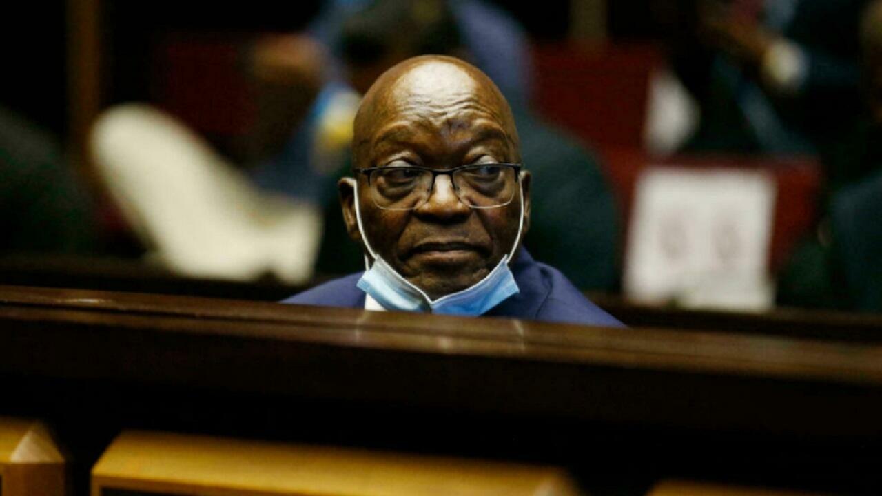استئناف محاكمة رئيس جنوب إفريقيا السابق جاكوب زوما