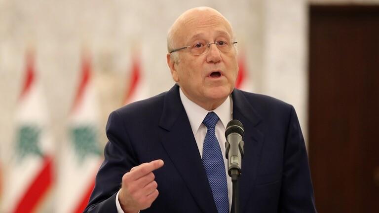 ميقاتي: إدخال الوقود الإيراني انتهاك لسيادة لبنان