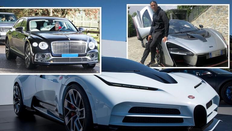 تعرف على أسطول سيارات كريستيانو رونالدو البالغ 23 مليون دولار