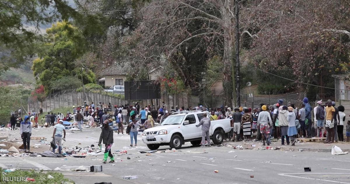 جنوب إفريقيا تواجه خطر اندلاع أعمال عنف جديدة