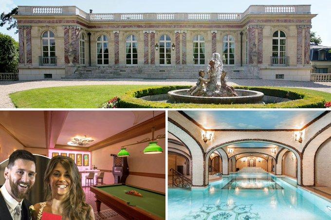 """ميسي ينوي شراء """"القصر الوردي"""" الذي نزل فيه شارل ديغول خلال الحرب العالمية الثانية"""
